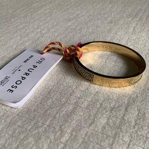 NWT Kate Spade 'Courage' bracelet